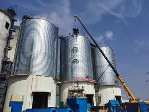 濮阳同力建材三座5000吨粉煤灰